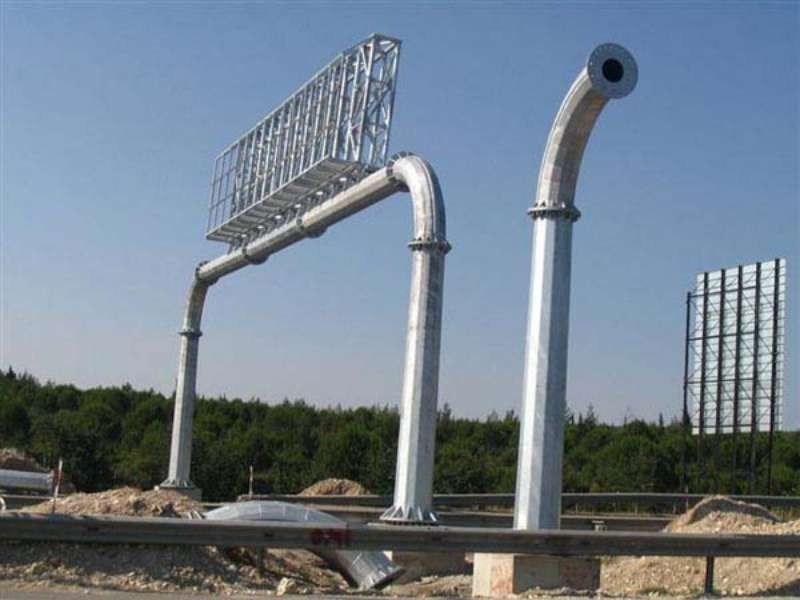 Steel Lighting and Electric Poles